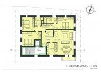1. Obergeschoss, 4.5 Zimmerwohnung, 142 m2, Haus am Bach Zweisimmen